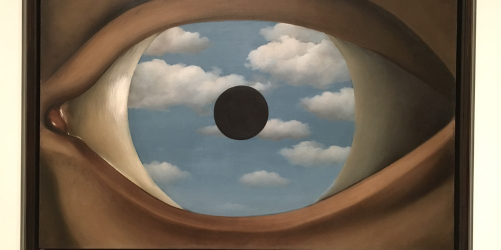The False Mirror - René Magritte 1928