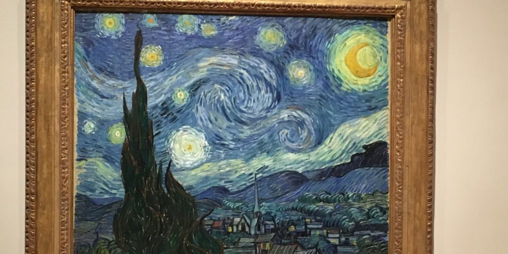 The Starry Night, Vincent Van Gogh 1889