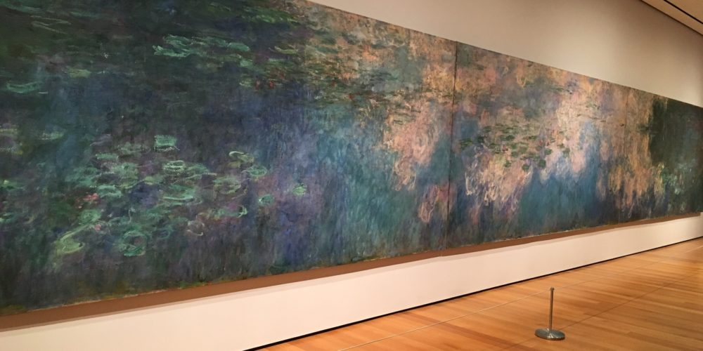Water Lilies, Claude Monet 1914-26