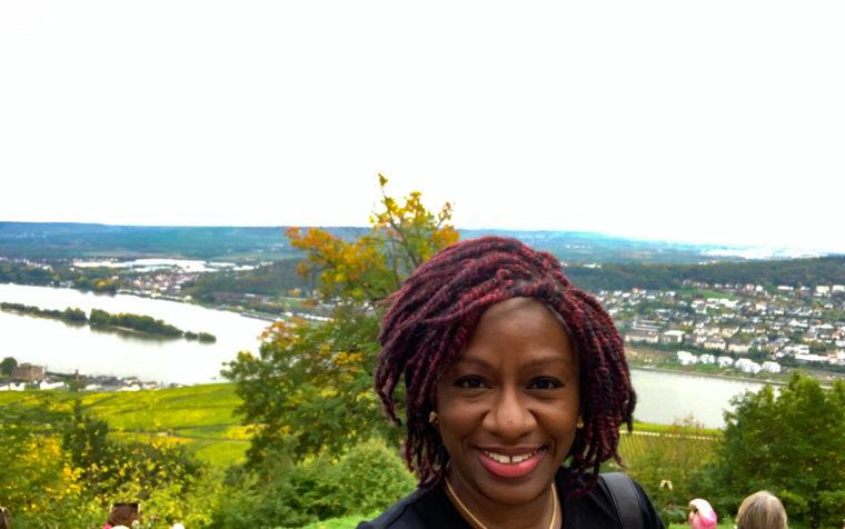 Ruedesheim am Rhein in the Niederwald Landscape Park